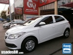 Foto Chevrolet Onix Branco 2014 Á/G em Goiânia