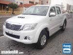 Foto Toyota Hilux C.Dupla Branco 2014/2015 Diesel em...