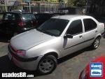 Foto Ford Fiesta Sedan Prata 2002/2003 Gasolina em...