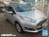 Foto Ford Fiesta Sedan (New) Prata 2013/2014 Á/G em...