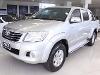 Foto Toyota Hilux Cabine Dupla Prata 2013
