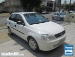 Foto Chevrolet Corsa Sedan Branco 2002/2003 Gasolina...
