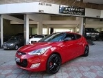 Foto Hyundai Veloster Vermelho 2013