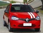 Foto Clio Expression 1.0 Flex Vermelho/branco 4pts...