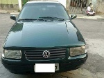 Foto Volkswagen Santana 2.0 Verde Ano 2000 Gas/gnv