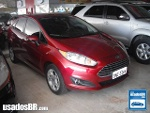 Foto Ford Fiesta Sedan (New) Vermelho 2013/2014 Á/G...