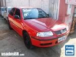 Foto VolksWagen Gol G3 Vermelho 2002 Gasolina em...