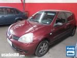 Foto Renault Clio Hatch Vermelho 2007/2008 Gasolina...
