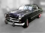 Foto Ford Coupe 1949 à - carros antigos