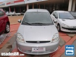 Foto Ford Fiesta Sedan Prata 2004/2005 Gasolina em...