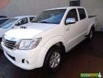 Foto Toyota Hilux SRV 3.0 2013 branca - 2013
