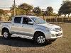 Foto Toyota Hilux Srv 4x4 Prata 2012/2013 Completa