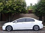 Foto Honda Civic LXL Branco Original Top placa RS 2010