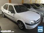 Foto Ford Fiesta Sedan Branco 2002 Gasolina em Goiânia