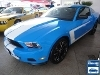 Foto Ford Mustang Azul 2012/2013 Gasolina em Brasília