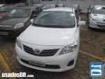 Foto Toyota Corolla Branco 2013/2014 Gasolina em...