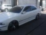 Foto Bmw 540 Branca Com Rodas Da M5, Audi, Mercedes