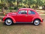 Foto Volkswagen Fusca 1300, Ano 1972 Placa Preta -...
