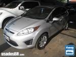 Foto Ford Fiesta Hatch (New) Prata 2012 Á/G em Campo...
