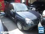 Foto Renault Clio Hatch Azul 2003/2004 Gasolina em...