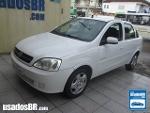 Foto Chevrolet Corsa Sedan Branco 2009/2010 Á/G em...