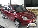 Foto Fiesta sedan 1.6 4P - Usado - Bordo - 2005 - R$...