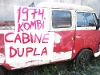 Foto Kombi Cabine Dupla 1974 -nao Luxo-nao6 Portas...