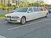 Foto Limousine Bmw 540 Branca