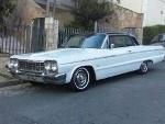 Foto Chevrolet Impala 1964 à - carros antigos