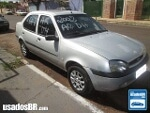 Foto Ford Fiesta Sedan Prata 2001/2002 Gasolina em...
