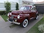 Foto Ford Super Deluxe Coupé 1941 Placa Preta