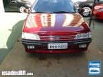 Foto Peugeot 405 Sedan Vinho 1994/1995 Gasolina em...