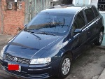 Foto Fiat Stilo 2003 Completo 1.8 16v Azul 4 Portas