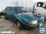 Foto VolksWagen Santana Verde 1996/1997 Gasolina em...