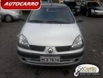 Foto Clio sedan authentique 1.0 16V - Usado - Prata...