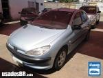 Foto Peugeot 206 Prata 2001 Gasolina em Aparecida de...