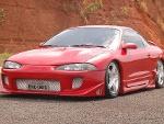 Foto Mitsubishi eclipse gst 2.0 16v Turbo 1995 vermelho