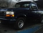 Foto FORD F1000 2.5 diesel 2p 2000/ diesel azul