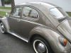 Foto Volkswagen Fusca 1964 à - carros antigos