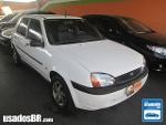 Foto Ford Fiesta Hatch Branco 1999/2000 Gasolina em...