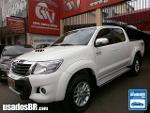 Foto Toyota Hilux C.Dupla Branco 2013/2014 Diesel em...