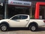 Foto Mitsubishi L200 Triton Branco 2013