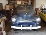 Foto Ford Deluxe 1948 à - carros antigos