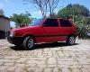 Foto Fiat/uno mille 92 vermelha em ótimo estado