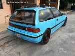 Foto Honda Civic 1989 - vendo honda civic color celeste