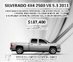 Foto Chevrolet Silverado 2500 4x4 A/C Doble Cabina