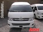 Foto Toyota hiace 3p 2.7 15 PASAJEROS CON AC MT 2013...