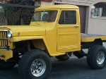 Foto Hermosa camioneta para arenales jeep willys