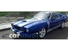 Foto Ford Mustang, Color Azul, 1984, Jalisco