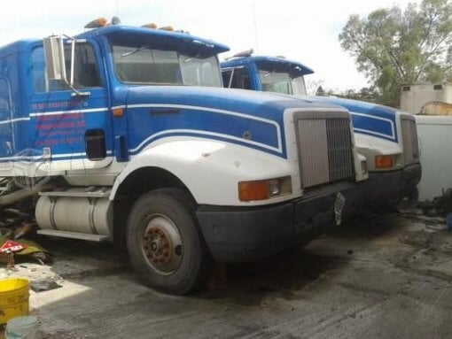 Foto Corte cabina torton camión international en México